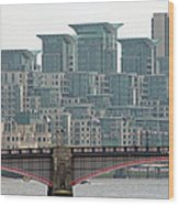View From Westminster Bridge Wood Print