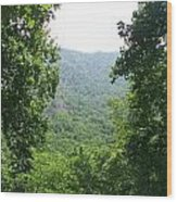 View In Between Wood Print