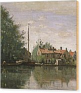 View In Holland Wood Print