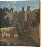 View In The Ile-de-france Wood Print