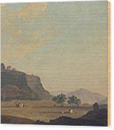 View Near Fort Gwalior, India, C.1783 Wood Print