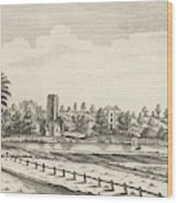 View Near Lichfield  (staffordshire) Wood Print