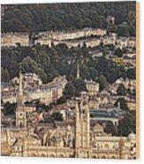 View Of Bath England Wood Print