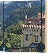 View Of Castles Wood Print
