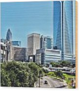view of Charlotte North Carolina Wood Print