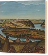 View Of Fort Snelling Wood Print
