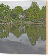 View Of Japanese Garden, Wroclaw, Poland Wood Print