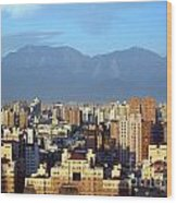 View Of Kaohsiung City In Taiwan Wood Print