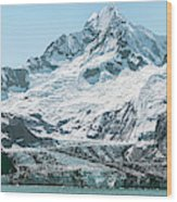 View Of Margerie Glacier In Glacier Bay Wood Print