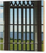 View Of Naragansett Bay Wood Print