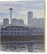 View Of Pier 70 Wood Print