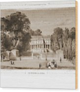 View Of The Castle, Paris And Surroundings Wood Print