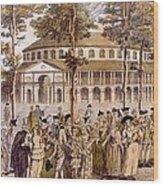 View Of The Jubilee Ball, Ranelagh Wood Print