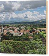 View Of Tuscany Wood Print