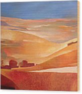 View Oil On Canvas Wood Print