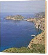 View Over To Assos Wood Print