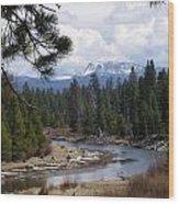 View To Paulina Peak Wood Print