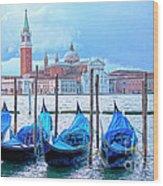 View To San Giorgio Maggiore Wood Print