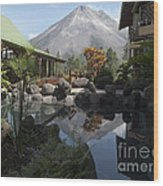 Viewing Arenal Volcano Wood Print