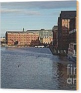 Views From Historic Gloucester Docks 2 Wood Print