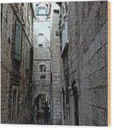 Views From Split Croatia Wood Print