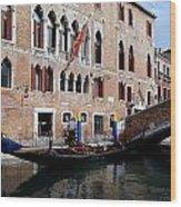 Views Of Venice Wood Print