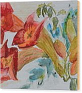 Vigne Provincial Wood Print