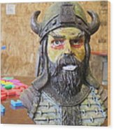 Viking 04 - Little Smile - Animation Project Wood Print
