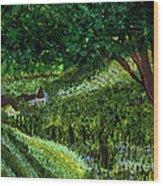 Villa By Jrr Wood Print