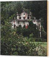 Villa De Vecchi Wood Print