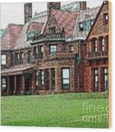 Villa Wood Print