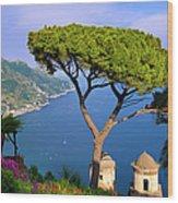 Villa Rufolo Wood Print