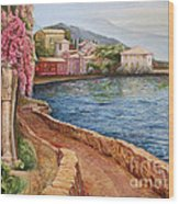 Villa Verenna Wood Print