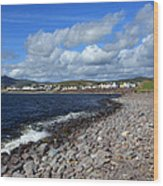 Village By The Sea - County Kerry - Ireland Wood Print