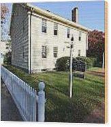 Village Hall East Hampton New York Wood Print