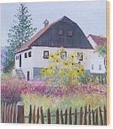Village Of Kumrovec Croatia Wood Print