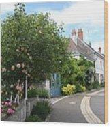 Village Road Wood Print