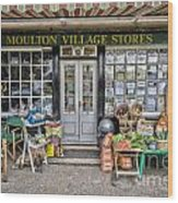 Village Stores 2 Wood Print