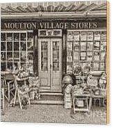 Village Stores 3 Wood Print