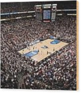 Villanova Wildcats The Pavilion Wood Print