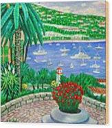 Villefranche Sur Mer---cote-d'azur Wood Print