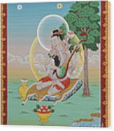 Vinapa Mahasiddha Wood Print