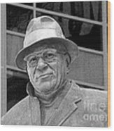 Vince Lombardi Wood Print by James Hammen