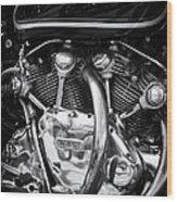 Vincent Engine Wood Print