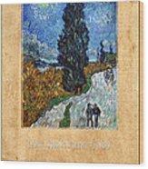 Vincent Van Gogh 4 Wood Print