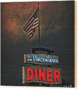 Vincentown Diner Wood Print
