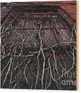 Vine Of Decay 1 Wood Print
