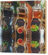 Vinegar Reflects  Wood Print