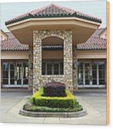 Vineyard Creek Hyatt Hotel Santa Rosa California 5d25792 Wood Print