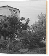 Vineyard Creek Hyatt Hotel Santa Rosa California 5d25795 Bw Wood Print